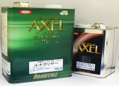 High solid top coat with excellent shimmer Isamu Axel 301 Apollo Clearer
